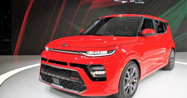 ظهور سيارة كيا سول 2020 للمرة الأولى في العالم
