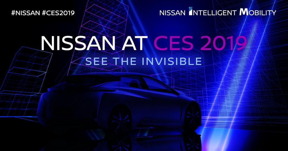 مفهوم التنقل الذكي من نيسان حاضر بقوة في معرض CES 2019