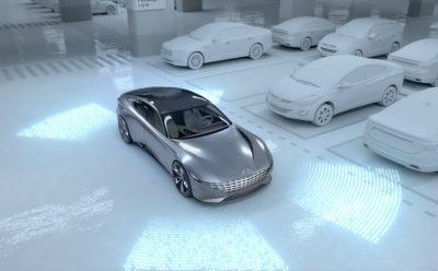 نظام ركن آلي و شحن لاسلكي مبتكر لمركبات هيونداي الكهربائية