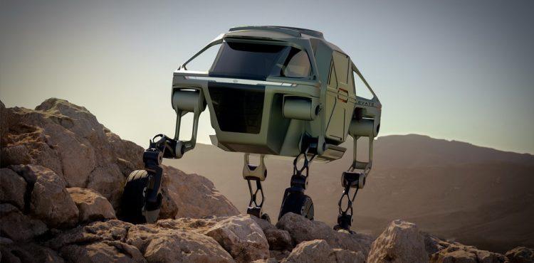 هيونداي إليفيت المميزة: أول مركبة في العالم قادرة على المشي