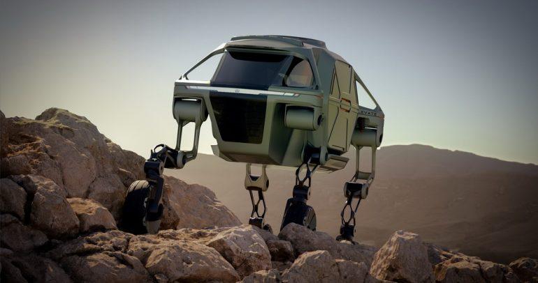"""هيونداي إليفيت المميزة: أول مركبة في العالم قادرة على """"المشي""""!"""