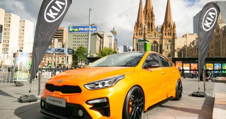 120 سيارة كيا للاستخدام في بطولة استراليا المفتوحة 2019