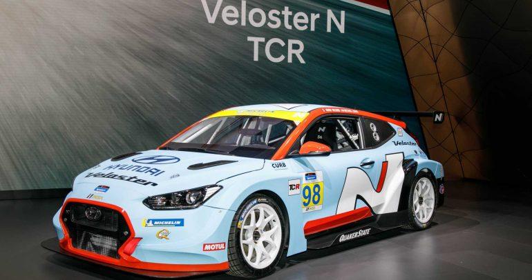 معرض ديترويت للسيارات لعام 2019: هيونداي فيلوستر N TCR جاهزة للقيادة على الحلبات