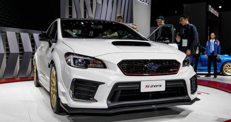 معرض ديترويت للسيارات لعام 2019: سوبارو STI S209 بجرعة قوة إضافية لعشاق الإثارة