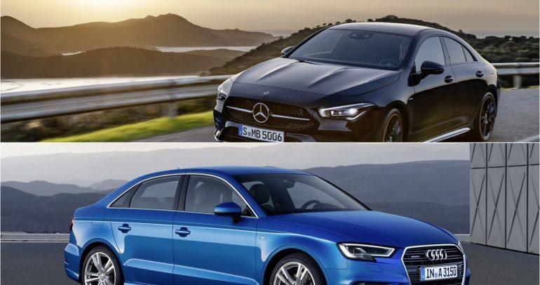 مرسيدس-بنز CLA بمواجهة أودي A3 أيهما الأفضل في فئة سيارات الصالون الصغيرة