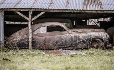 الصدأ على السيارات الكلاسيكية