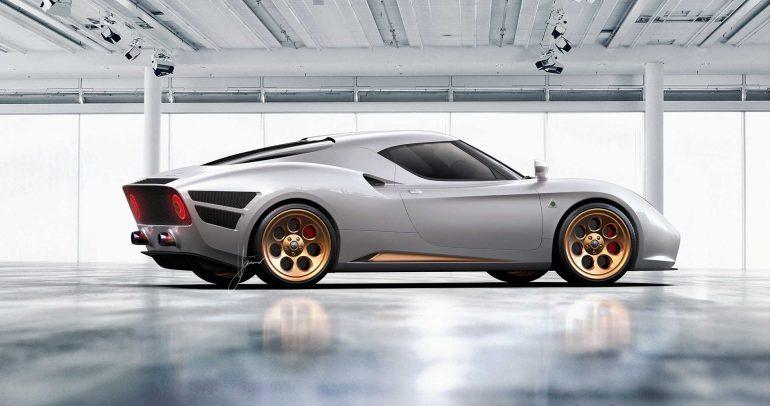 ألفا روميو 4C نيفولا بتصميم مستوحى من الماضي
