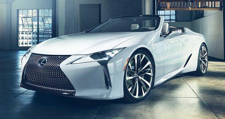 معرض ديترويت للسيارات لعام 2019: لكزس LC المكشوفة الإختبارية للمزيد من الرفاهية