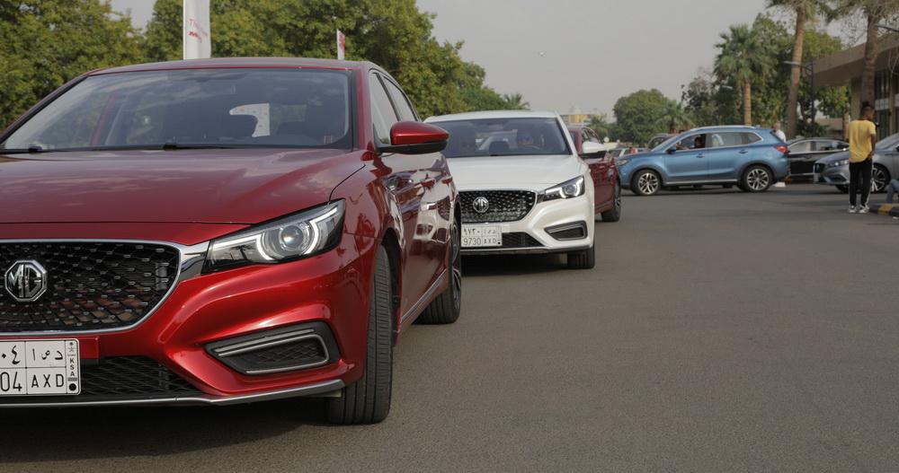 تجربة قيادة سيارة MG 6 الجديدة كليا في جدة