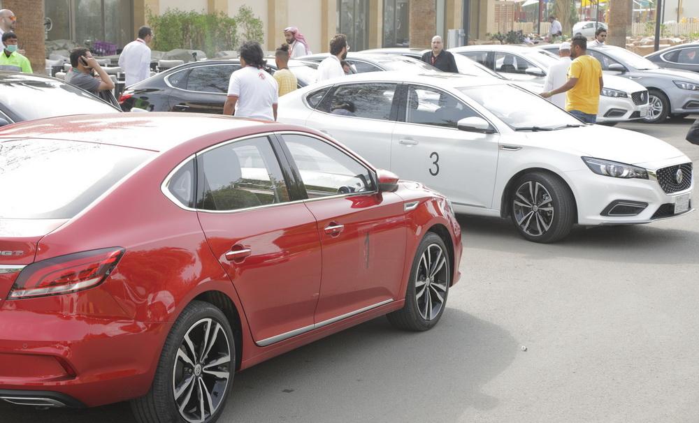 تجربة قيادة سيارة Mg 6 الجديدة كليا في جدة عالم السيارات