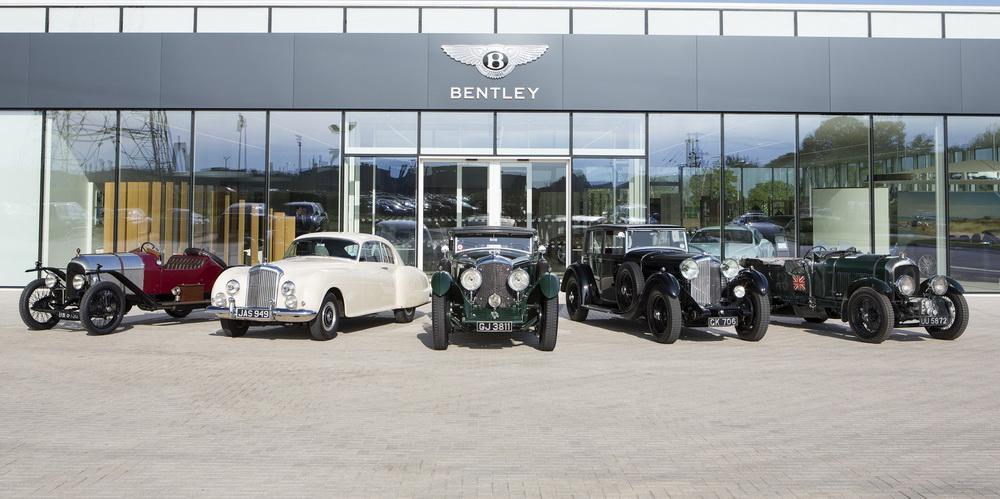 ظهور سيارة بنتلي EXP 2 بمناسبة مئة عام على تأسيس الشركة