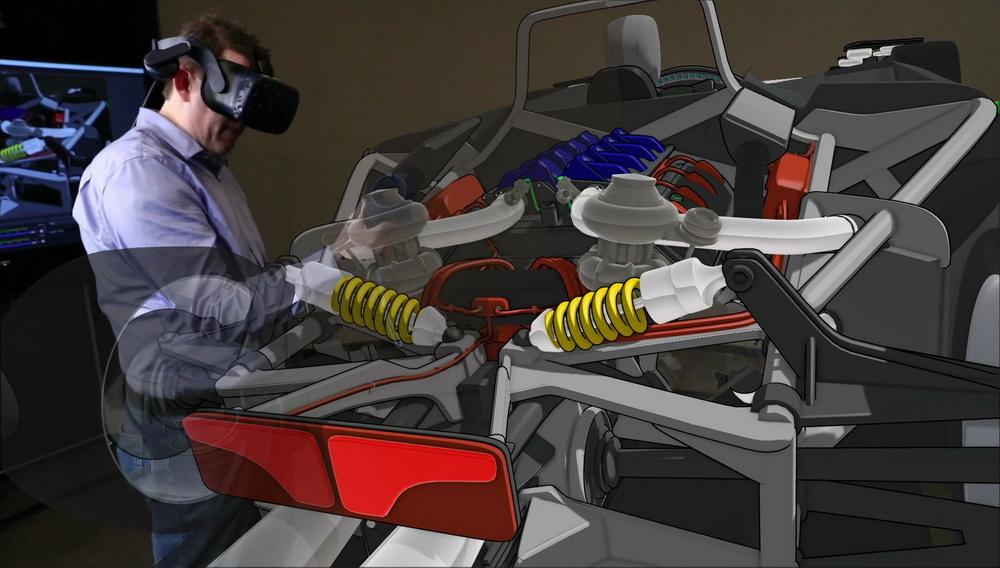 فورد تستخدم أداة الواقع الافتراضي الثلاثية الأبعاد لرسم سياراتها!