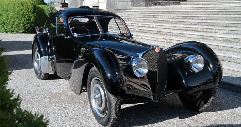 تعرف على بوجاتي 57 السيارة الكلاسيكية المميزة