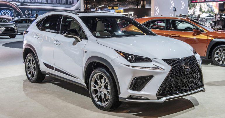 معرض شيكاجو للسيارات لعام 2019 : لكزس NX إصدار بلاك لاين المحدود