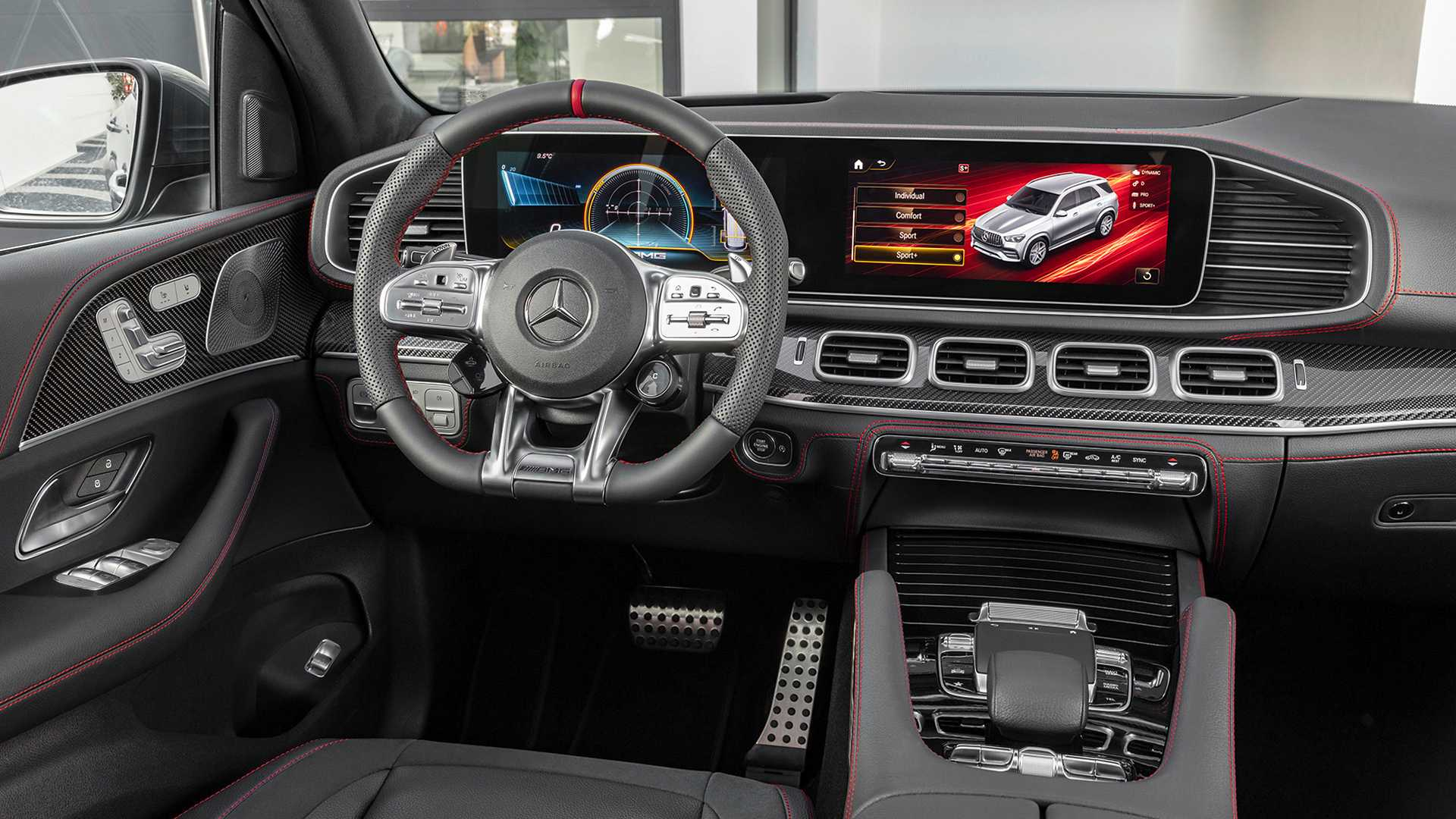 مرسيدس-بنز GLE 53 AMG الجديدة