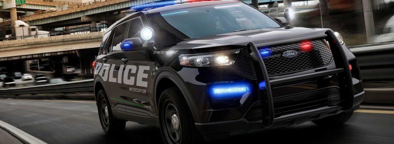 سيارة الشرطة الهجينة