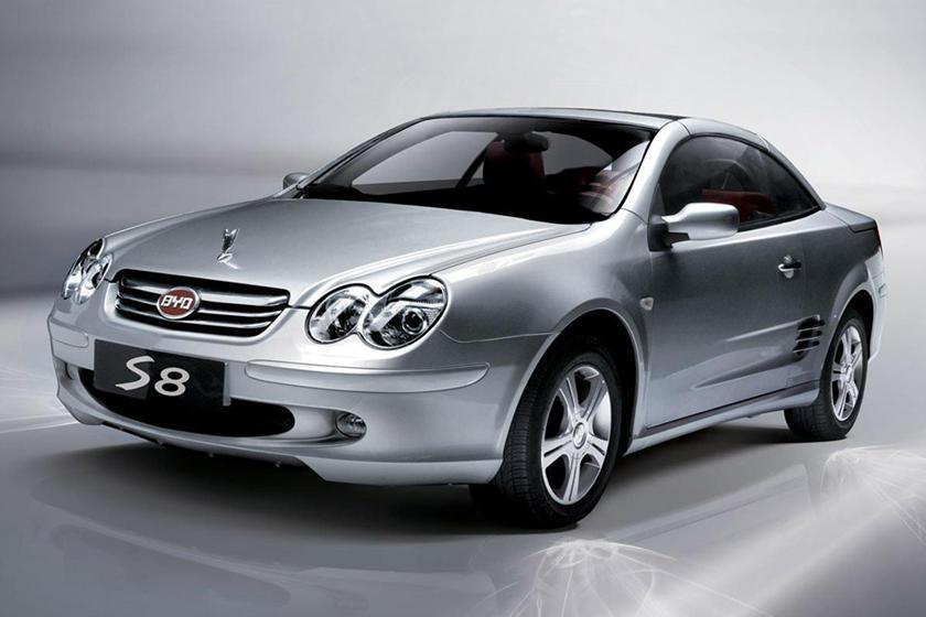 السيارات الصينية ذات التصميم المستنسخ