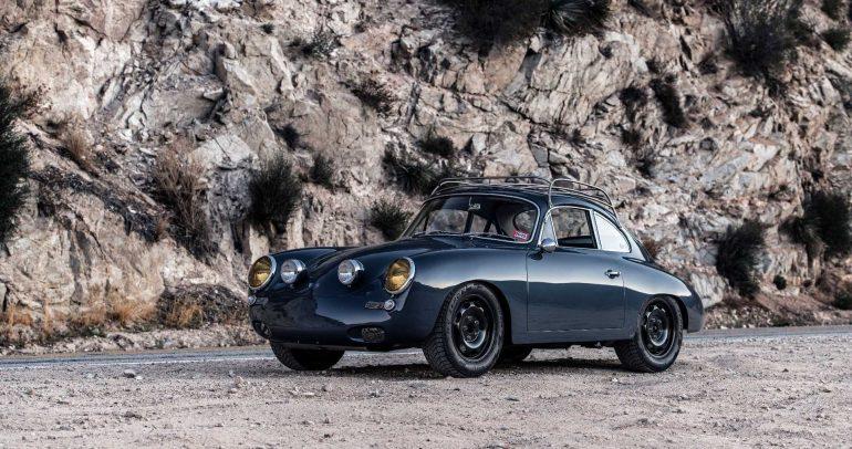 بورشه 356 C4S الوحيدة والفريدة من نوعها على مستوى العالم