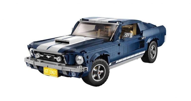 شركة ليجو توفر نموذج قابل للتجميع عن فورد موستانج GT الكلاسيكية