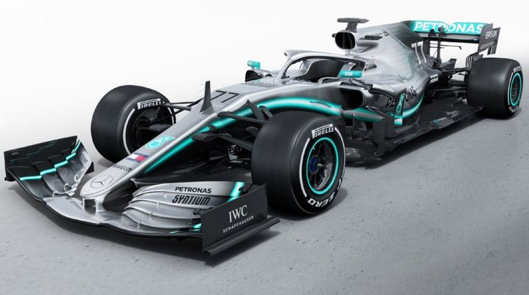 سيارة فريق مرسيدس الجديدة W10