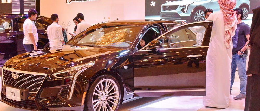 جديد سيارات كاديلاك الفاخرة في معرض اكسس في جدة