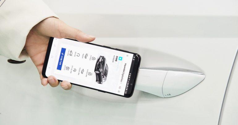 مفتاح رقمي ذكي جديد لسيارات هيونداي بتقنية NFC