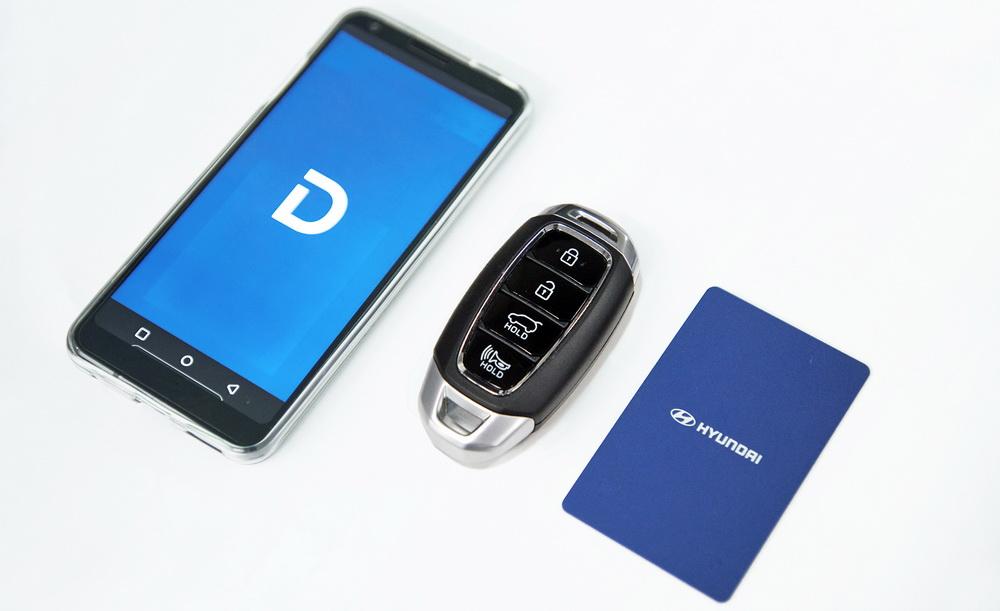 مفتاح رقمي ذكي جديد لسيارات هيونداي تقنية الاتصال قريب المدى NFC