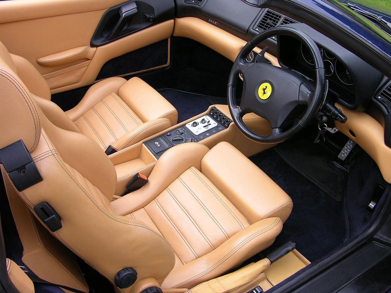 طرازات V8 من فيراري