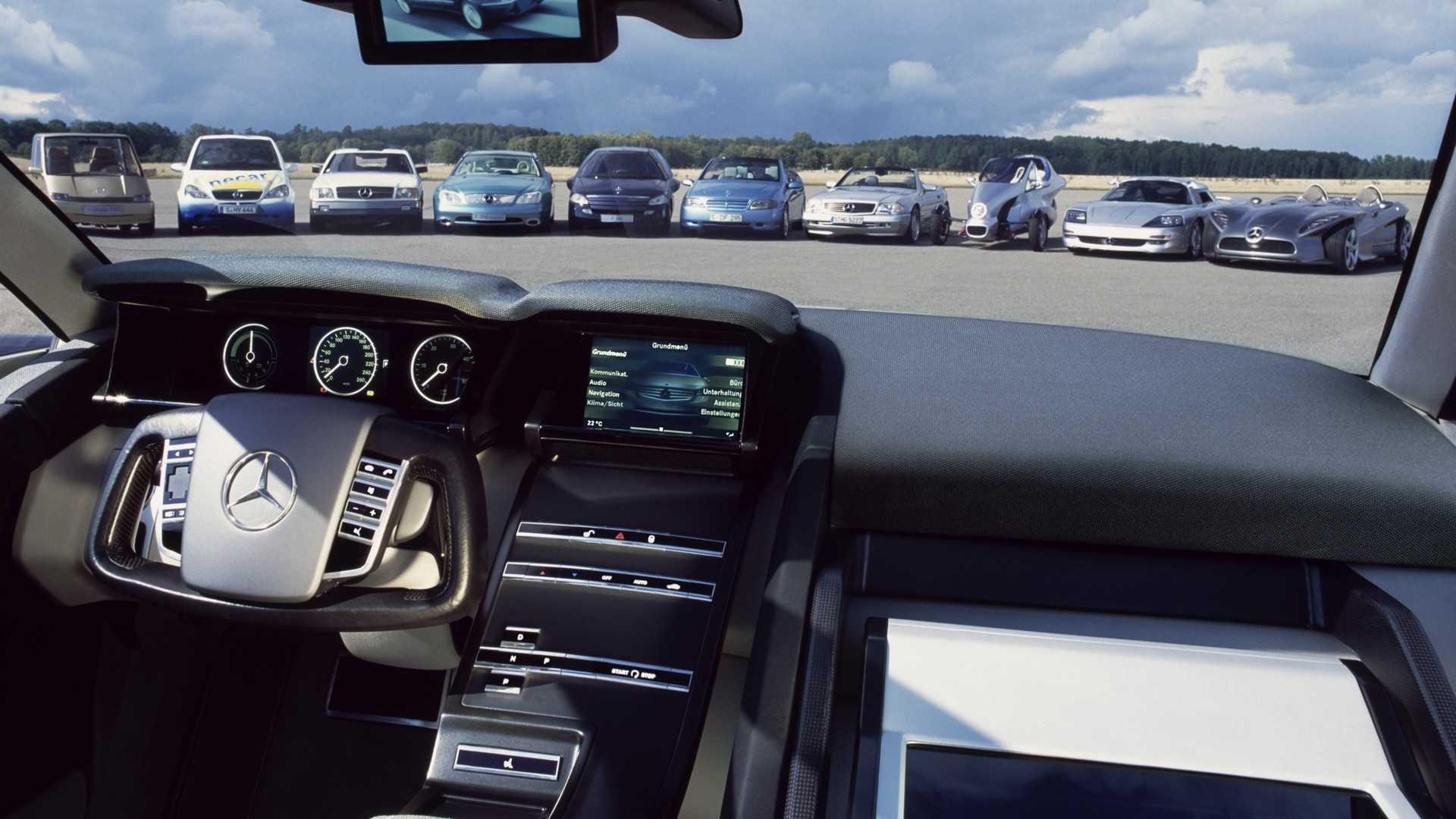 ستتوفر في سيارات المستقبل والتي تبرز منها مرسيدس-بنز F 500 الإختبارية التي كانت تحتوي على بعض التقنيات التي سيجري إستخدامها في الطرازات اللاحقة