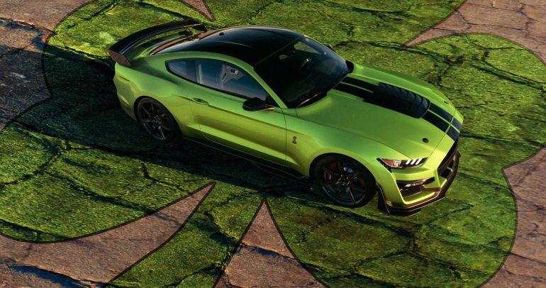فورد موستانج شيلبي GT500 الجديدة ستحظى ببعض الميزات