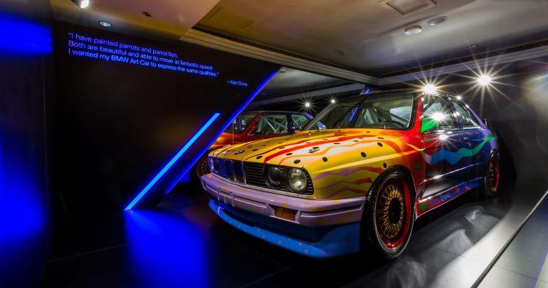 سيارة بي ام دبليو الفنية في معرض آرت دبي السنوي للمرة الأولى في الشرق الأوسط