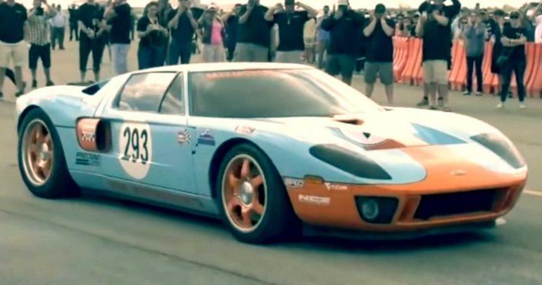 فورد GT المعدلة تتمكن من تسجيل رقم مميز في السرعة