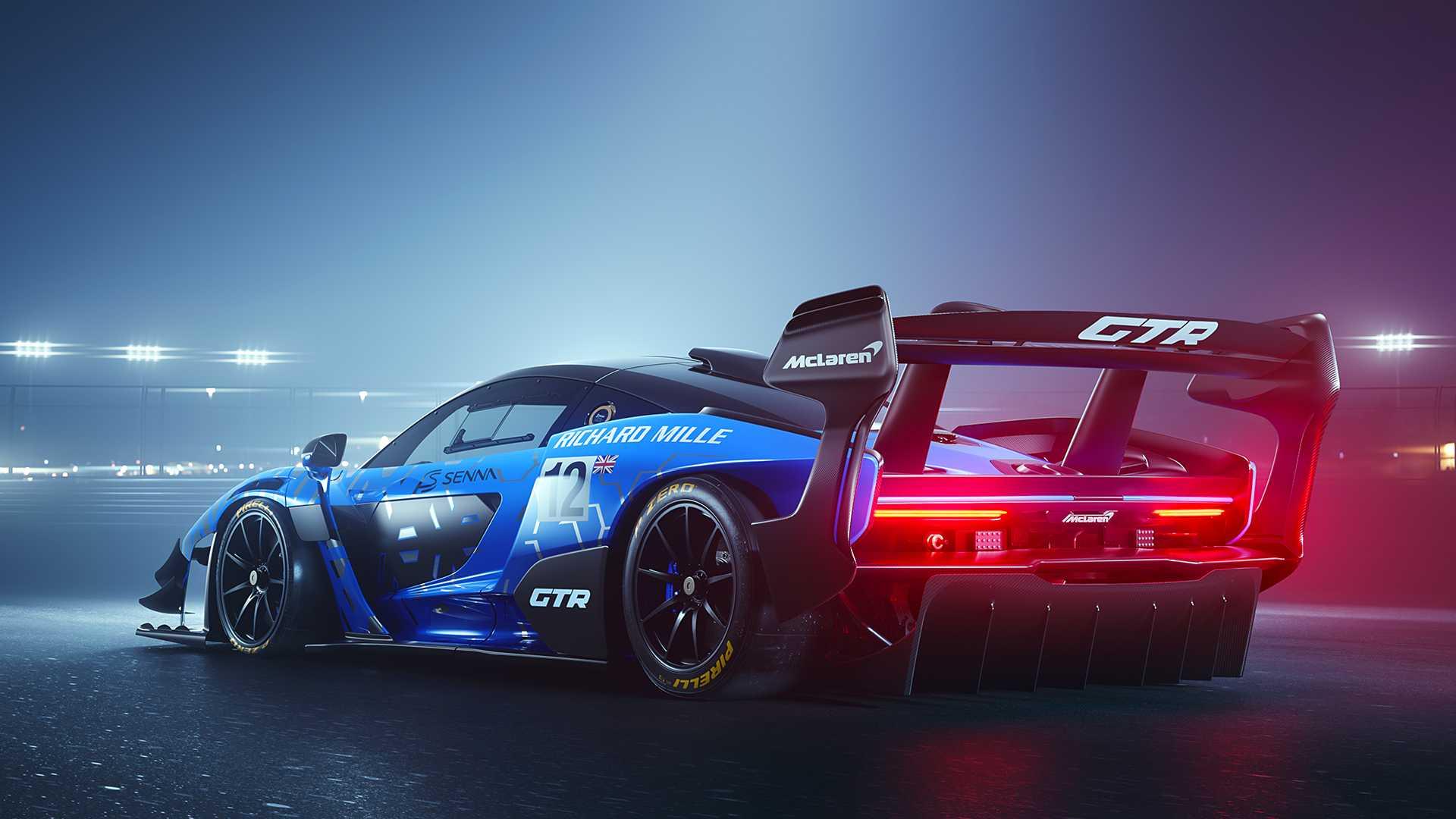 ماكلارين سينا GTR