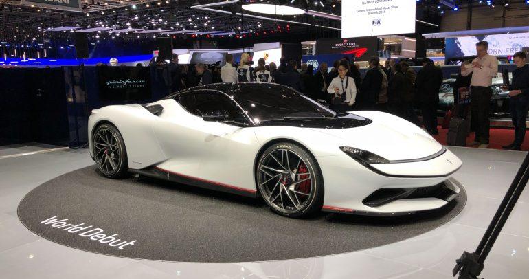 بيننفارينا باتيستا هي أحدث السيارات الكهربائية الخارقية من دار التصميم الشهيرة
