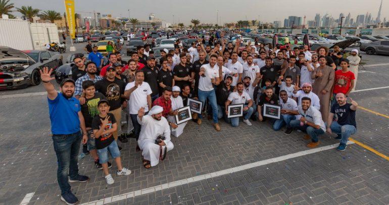 الاحتفال بمرور 55 سنة على إطلاق فورد موستانج في الشرق الأوسط