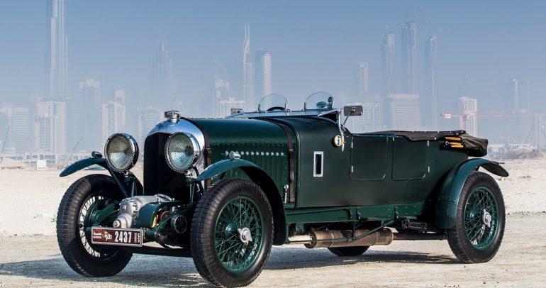 بنتلي Blower.. سيارة سباقات تعود إلى ما قبل الحرب العالمية