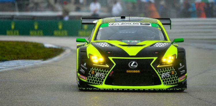 لكزس RC F GT3 تحلّق في سباق سيبرينج الدولي للتحمل