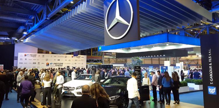 مرسيدس بنز تستعرض الذكاء الكهربائي EQ في e-MotorShow