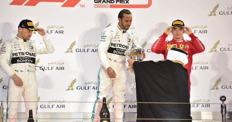 هاملتون يفوز في سباق جائزة البحرين الكبرى لطيران الخليج للفورمولا وان 2019