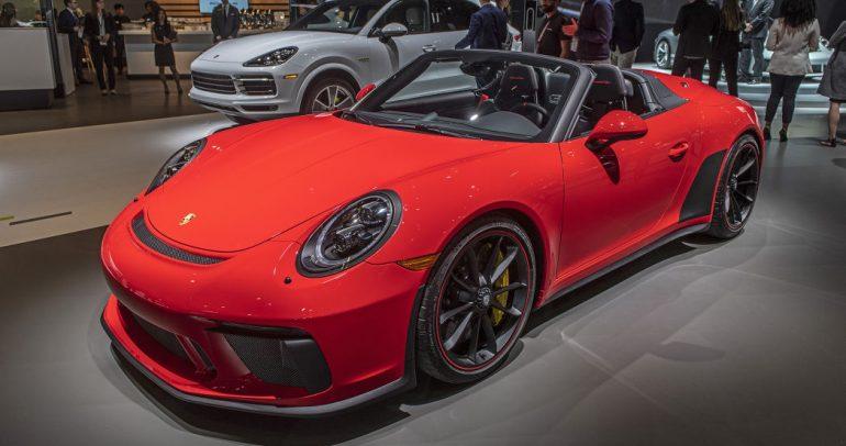 بورشه 911 سبيدستر الجديدة تنطلق رسميا بعد انتظار