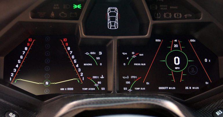 سيارات تحتوي على تصميم لافت للوحة العدادات والقيادة أيضا