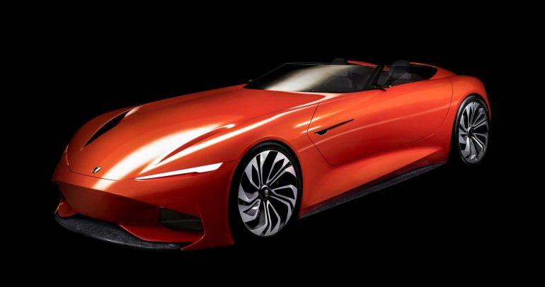 كارما SC1 الإختبارية التي تعكس التصور المستقبلي لتصميم السيارات
