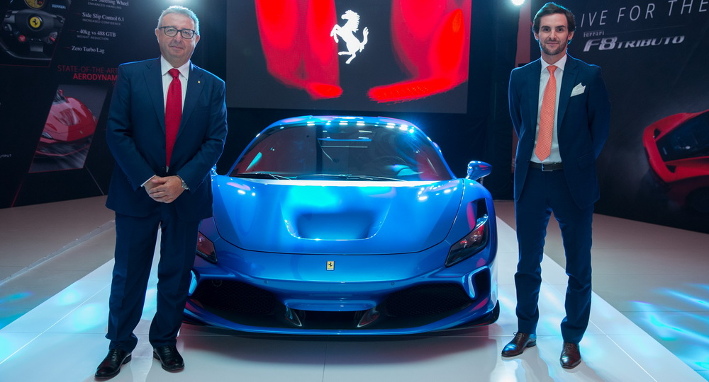 أقوى سيارة فيراري بمحرك V8 في السعودية