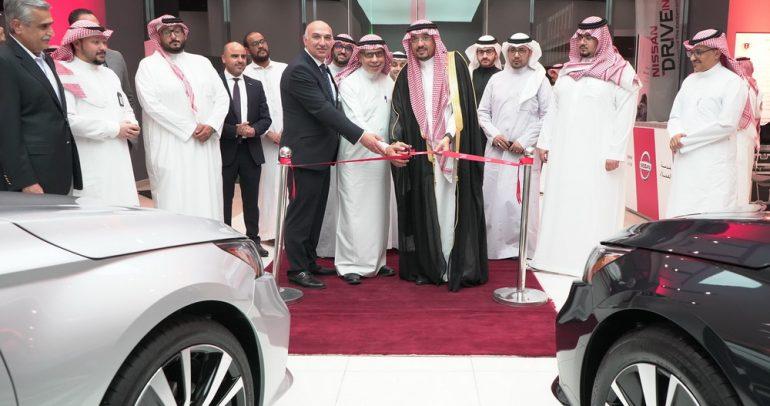 بترومين نيسان تدشن أول صالة عرض في مكة