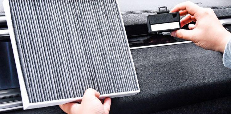 تطوير نظام ذكي لتنقية الهواء داخل مقصورة السيارة