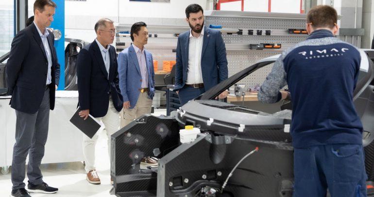 تعاون بين كيا و ريماك لتطوير سيارة كهربائية عالية الأداء
