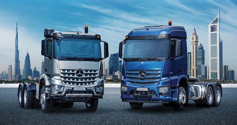 مواصفات شاحنة مرسيدس أكتروس الثقيلة المصنوعة في السعودية