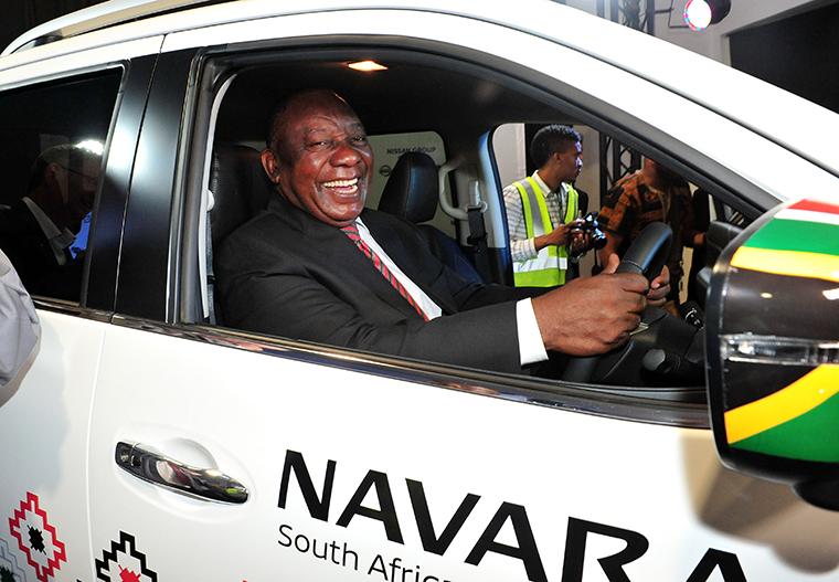 هل تقوم نيسان بإنتاج طراز ناڤارا بيك أب في جنوب أفريقيا؟