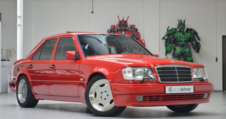 مرسيدس-بنز E60 AMG فريدة من نوعها .. للبيع