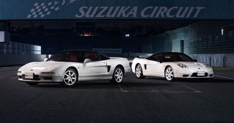 نسختان مميزتان من هوندا NSX-R للبيع